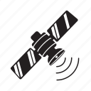 satellite, signal, space, communication, connection, internet, web