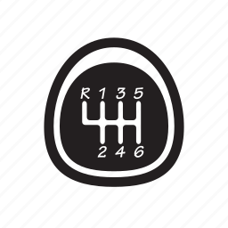 automobile, car, gear, road, vehicle icon