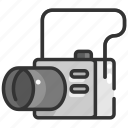 camera, digital, electronics, photo camera, photograph, picture, technology icon