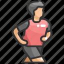 exercise, jogging, man, runner, running, sport, sportive
