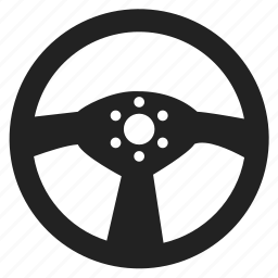 diving, driving, steering, wheel icon