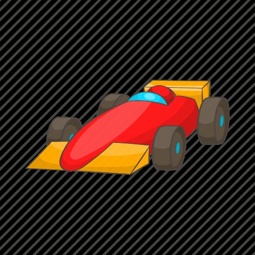 auto, car, cartoon, race, sign, vehicle, wheel icon