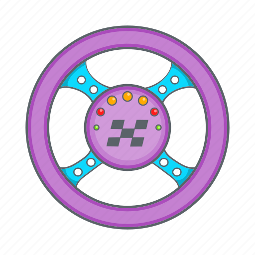 cartoon, racing, rudder, sign, transportation icon
