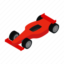 automobile, car, isometric, race, speed, sport, wheel icon