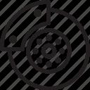 auto, automobile, brake disk, car, transport, transportation, vehicle icon
