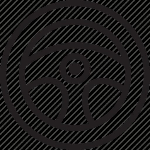 auto, automobile, car, steering wheel, transport, transportation, vehicle icon