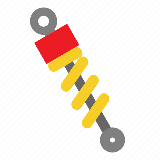 Absorber, auto, car, part, shock, suspension icon - Download on Iconfinder