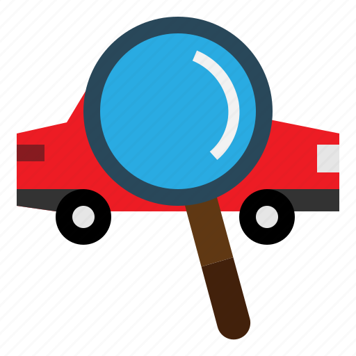 Car, search, transportation, view icon - Download on Iconfinder