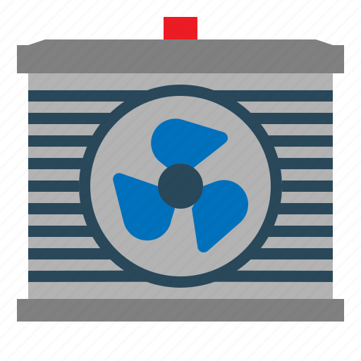 Air, car, fan, part, rediator icon - Download on Iconfinder