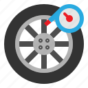 air, meter, part, wheel icon