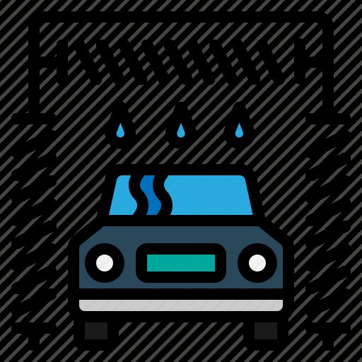 auto, car, clean, wash icon