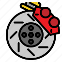 brake, car, disc, service icon