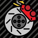 brake, car, disc, service