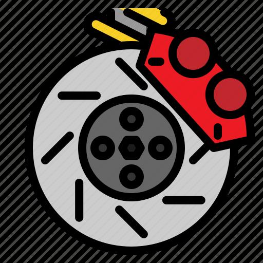 brake, car, disc, service icon