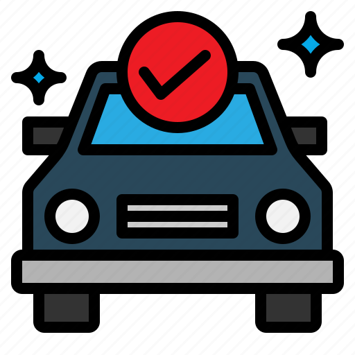 car, fix, maintainance, servicing, sign icon