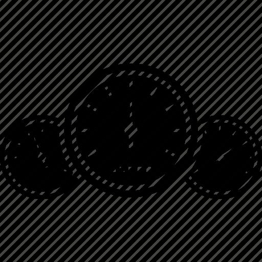 car, gauge, maintenance, meter, mileage, service, speedometer icon