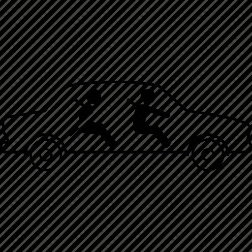 car, seat belt, seatbelt icon