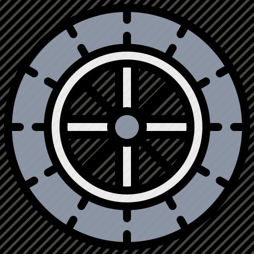 aliment, car, service, tire, wheel icon
