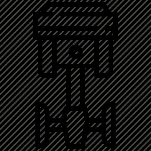 car, engine, piston, service, tool icon