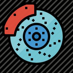 automobile, brake, car, disc, part icon