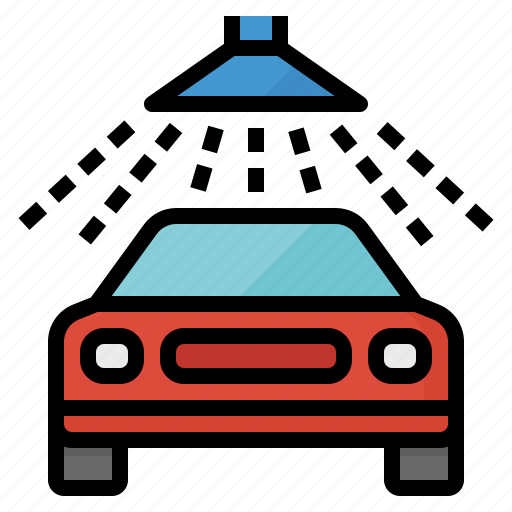 car, clean, cleaning, wash, washing icon