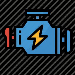 auto, car, engine, machine, motor icon