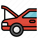 auto, car, machine, maintenance, service icon