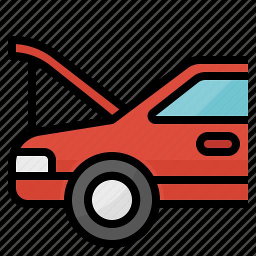 Auto, car, machine, maintenance, service icon - Download on Iconfinder