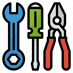 measures, mechanic, repair, service, tools icon
