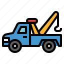 car, repair, service, tow, truck icon