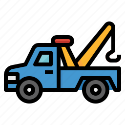 car, repair, service, tow, truck icon