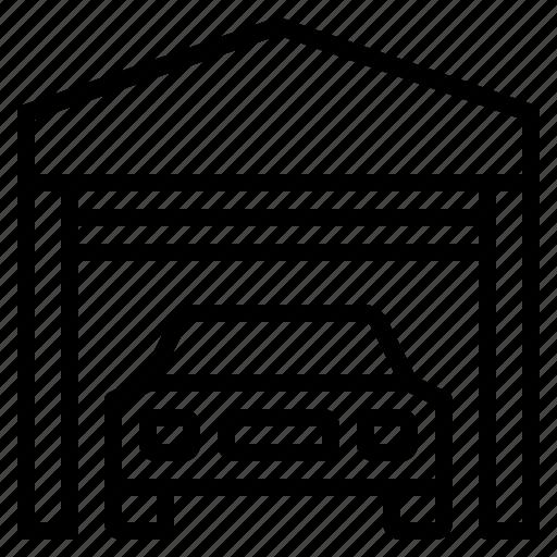 car, engine, garage, mechanic, repair icon