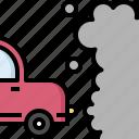 cabon, car, gas, pollution, repair, service, smoke