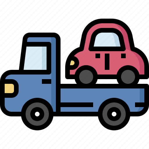 assistance, car, fix, insurance, roadside, service, towing icon
