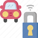 car, fix, key, lock, protection, security, service icon