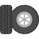 auto, car, fix, repair, service, tire, wheel icon