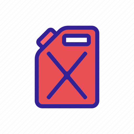 canister, car, element, service, tools icon