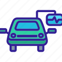 car, diagnostic, element, equipment, service icon