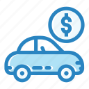 automobile, car, customer, dealership, new, transportation, vehicle icon