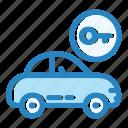 automobile, car, door, key, lock, transportation, vehicle