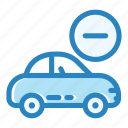 auto, automobile, car, engine, remove, transportation, vehicle icon