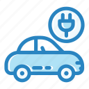 cable, car charge, electric, energy, fuel, power, vehicle icon