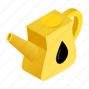 car, container, gasoline, handle, industry, isometric, transportation icon