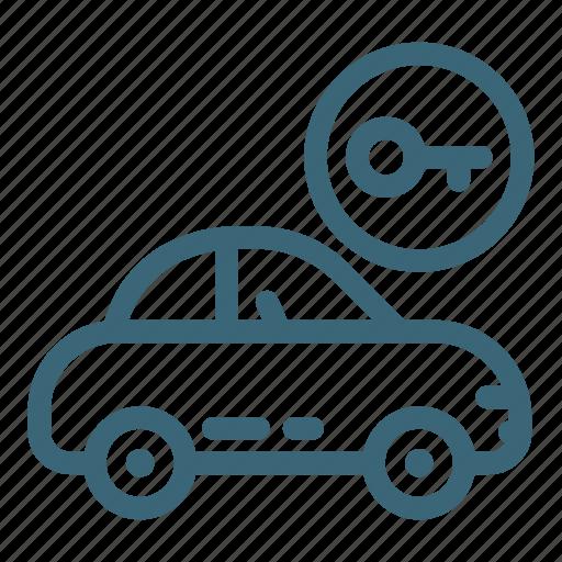 Automobile, car, door, key, lock, transportation, vehicle icon - Download on Iconfinder