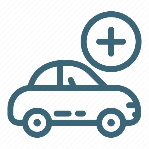 add, auto, automobile, car, engine, transportation, vehicle icon