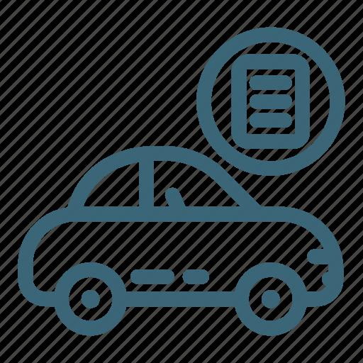 auto, automobile, car, passport, technical, transport, vehicle icon