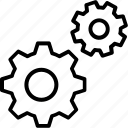 gear, cog, settings, configuration