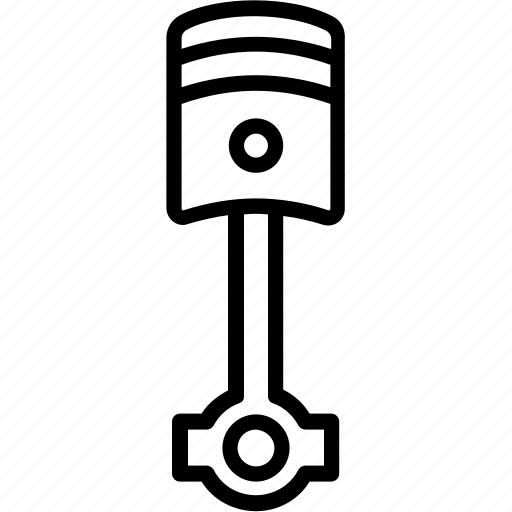 Piston, engine, automotive car icon - Download on Iconfinder