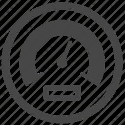 automobile, car, dashboard, gauge, meter, speed, vehicle icon
