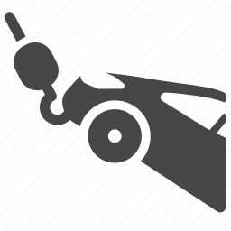 broken, car, garage, service, support, tow, towing icon